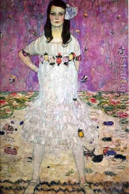 Mada Primavesi  1912 by Gustav Klimt - Reproduction Oil Painting