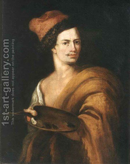 Portrait of Adam Manyoki by Jan Kupecky - Reproduction Oil Painting