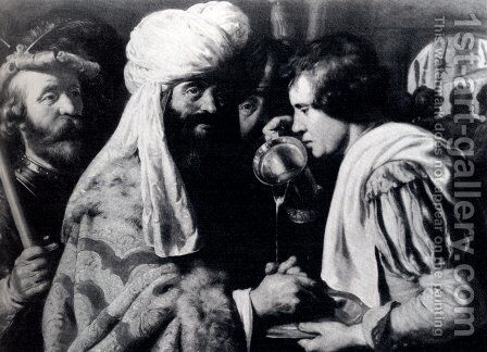 Pilate Washing his Hands by Jan Lievens - Reproduction Oil Painting