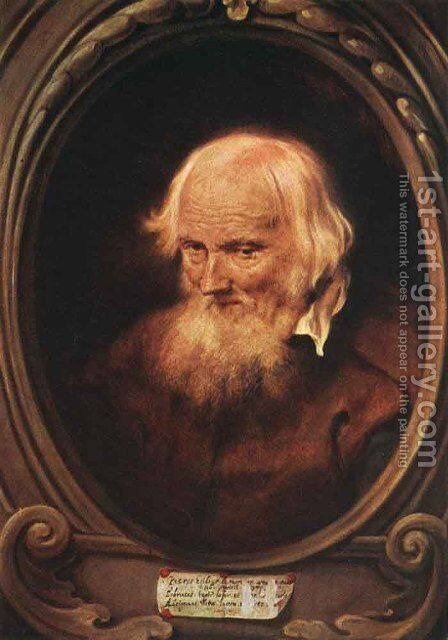 Portrait of Petrus Egidius de Morrion  1637 by Jan Lievens - Reproduction Oil Painting