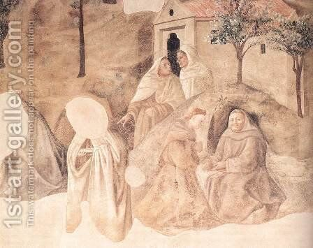 Rules of the Carmelite Order (detail) c. 1432 by Fra Filippo Lippi - Reproduction Oil Painting