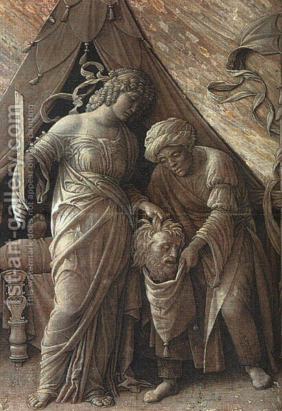 Judith and Holofernes  1495-1500 by Andrea Mantegna - Reproduction Oil Painting
