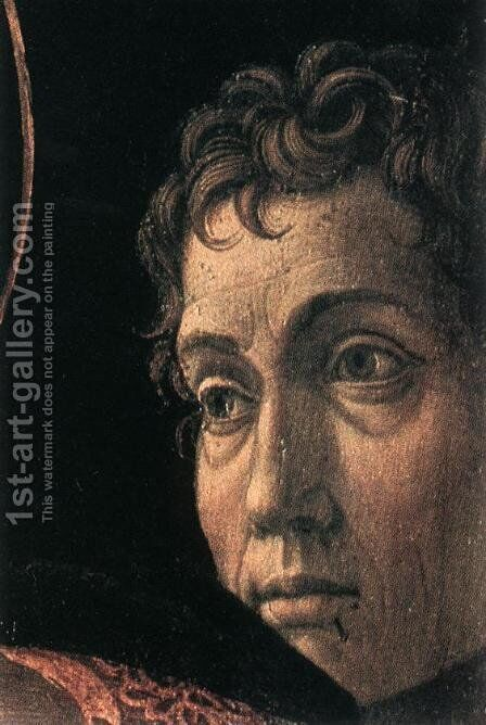 Presentation at the Temple (detail) c. 1460 by Andrea Mantegna - Reproduction Oil Painting