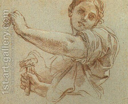 Study for Jael Slaying Sisera by Carlo Maratti - Reproduction Oil Painting