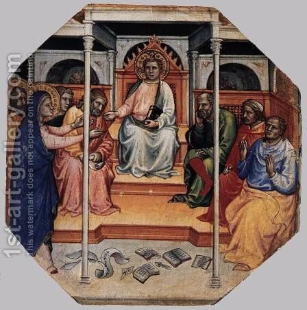 Scenes from the Life of Christ (5) by Mariotto Di Nardo - Reproduction Oil Painting
