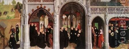 Scenes from the Life of St Bertin (2) 1459 by Simon Marmion - Reproduction Oil Painting