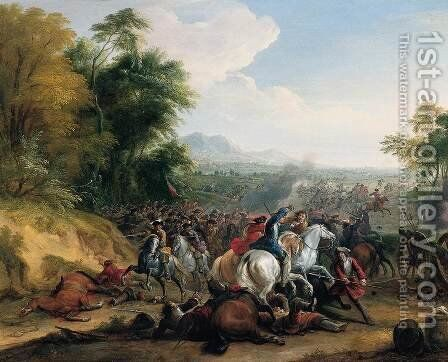 Cavalry Attack by Jean-Baptiste Martin (Des Batailles) - Reproduction Oil Painting