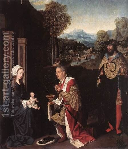 Adoration of the Magi by Master of Hoogstraeten - Reproduction Oil Painting