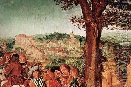 St Gilles and the Hind (detail) c. 1500 by Master of St. Gilles - Reproduction Oil Painting