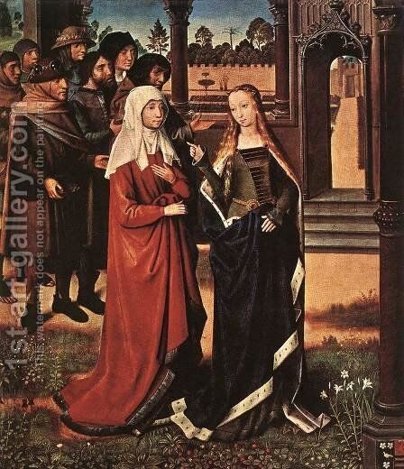 Scene from the St Lucy Legend 1480 by Master of the Saint Lucy Legend - Reproduction Oil Painting