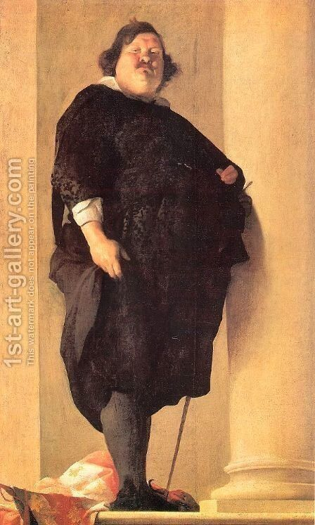 The Tuscan General Alessandro del Borro 1645 by Charles Mellin - Reproduction Oil Painting