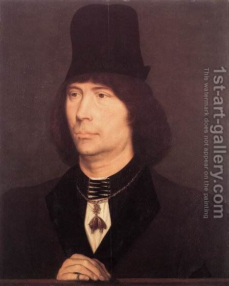 Portrait of Anthony of Burgundy 1467-70 by Hans Memling - Reproduction Oil Painting
