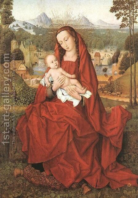 Virgin and Child by Hans Memling - Reproduction Oil Painting