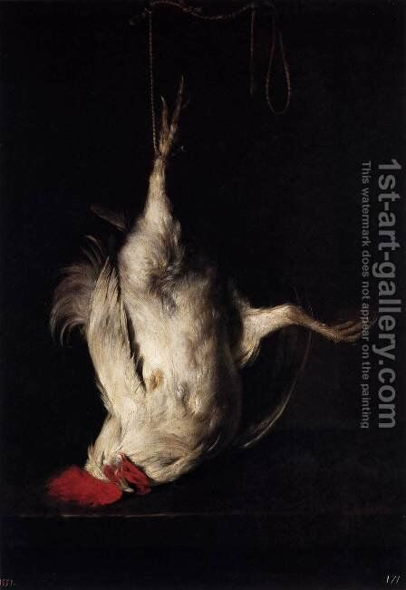 Dead Cock by Gabriel Metsu - Reproduction Oil Painting