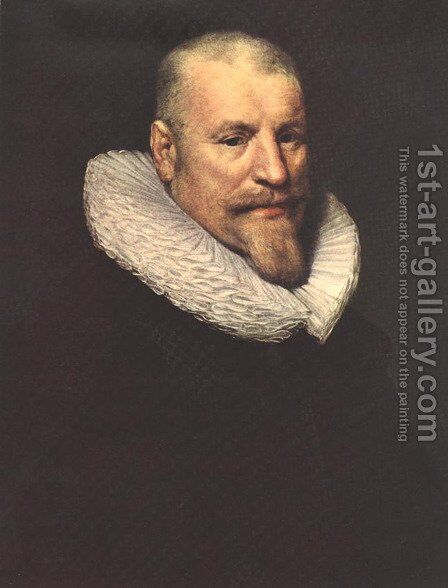 Portrait of a Man by Michiel Jansz. van Miereveld - Reproduction Oil Painting