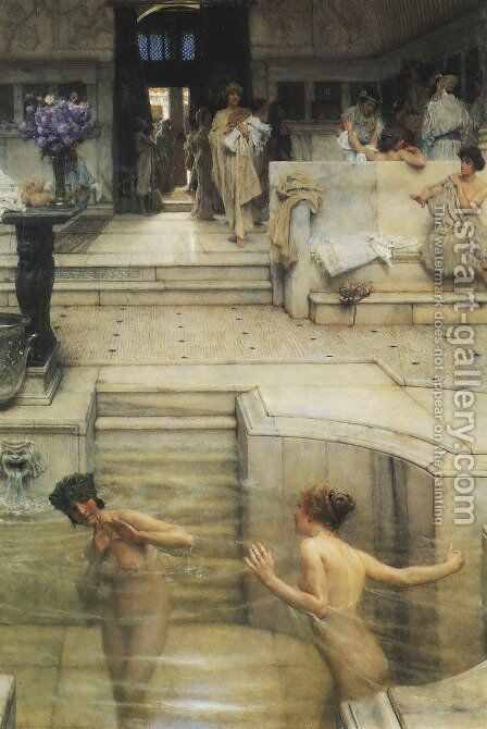 Favourite Custom by Sir Lawrence Alma-Tadema - Reproduction Oil Painting
