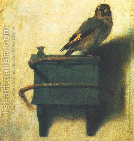 Goldfinch by Carel Fabritius - Reproduction Oil Painting