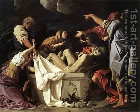 The Deposition 1613 by Bartolomeo Schedoni - Reproduction Oil Painting