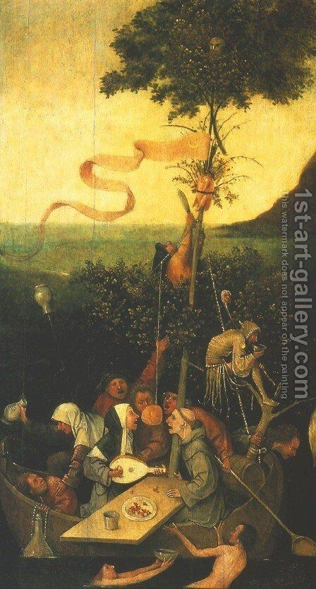Ship of Fools by Hieronymous Bosch - Reproduction Oil Painting