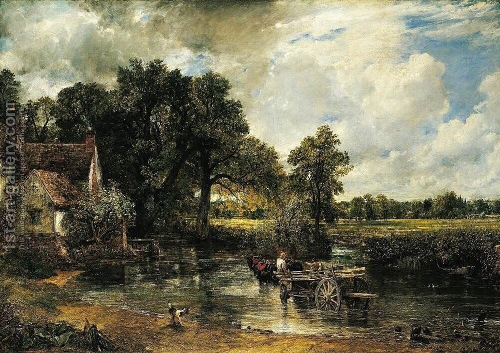 Haywain Painting By John Constable Reproduction 1st Art Gallery