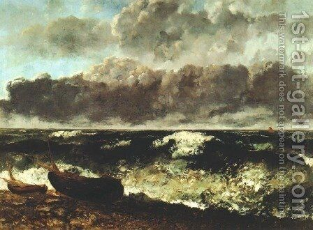 Wave by Gustave Courbet - Reproduction Oil Painting
