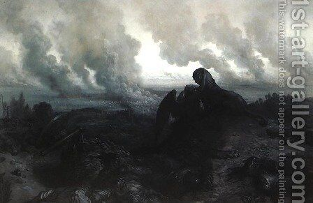 Enigma by Gustave Dore - Reproduction Oil Painting