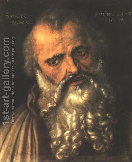 St Philip 2 by Albrecht Durer - Reproduction Oil Painting