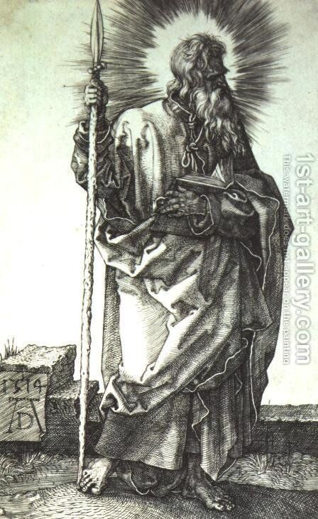 Apostle by Albrecht Durer - Reproduction Oil Painting