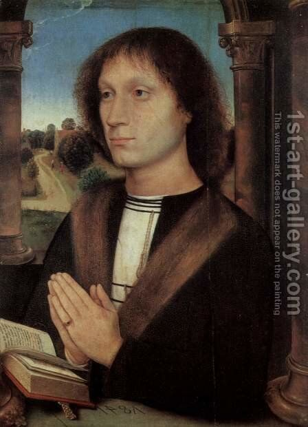 Portrait of Benedetto di Tommaso Portinari by Hans Memling - Reproduction Oil Painting