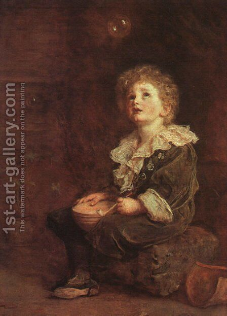 Bubbles by Sir John Everett Millais - Reproduction Oil Painting