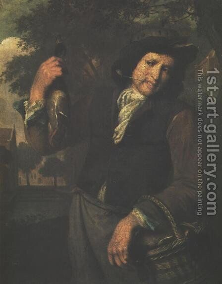Game Salesman by Christoffel Lubieniecki - Reproduction Oil Painting