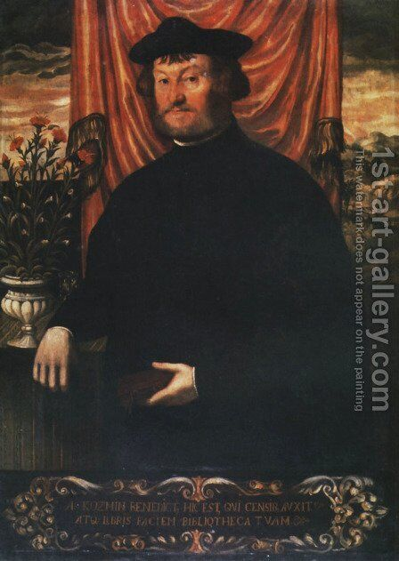 Benedict of Kozmin by - Unknown Painter - Reproduction Oil Painting