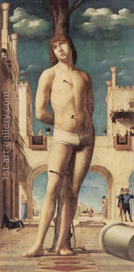 St. Sebastian (San Sebastiano) by Antonello da Messina Messina - Reproduction Oil Painting