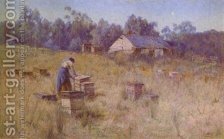 Old Bee Farm by Clara Southern - Reproduction Oil Painting