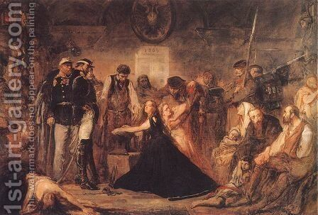 Year 1863 - Polonia by Jan Matejko - Reproduction Oil Painting