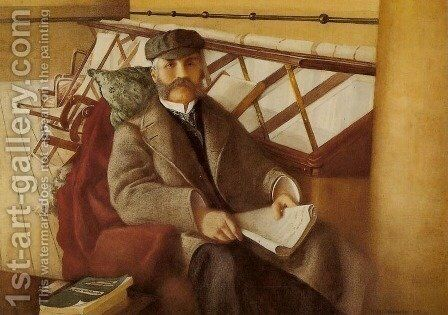 Portrait of William Milne by Helen Hambidge - Reproduction Oil Painting