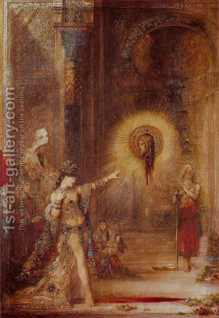 Apparition by Gustave Moreau - Reproduction Oil Painting
