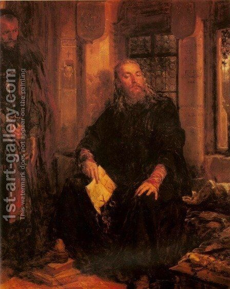 Ladislaus the White in Dijon by Jan Matejko - Reproduction Oil Painting