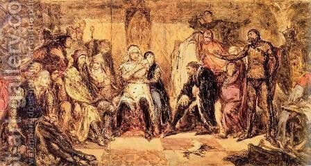 Seym in Gasawa by Jan Matejko - Reproduction Oil Painting