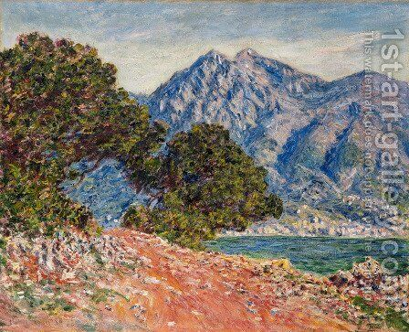 Cap Martin, near Boston by Claude Oscar Monet - Reproduction Oil Painting