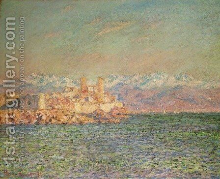 Old Fort at Antibes by Claude Oscar Monet - Reproduction Oil Painting