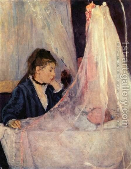 Cradle by Berthe Morisot - Reproduction Oil Painting