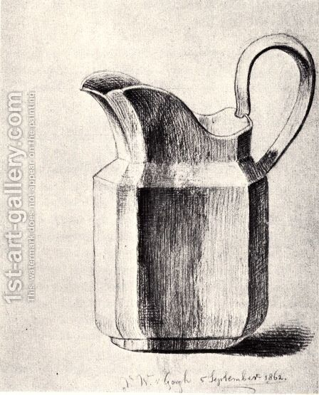 Milk Pitcher by Vincent Van Gogh - Reproduction Oil Painting