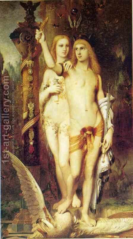 Jason 1863-65 by Gustave Moreau - Reproduction Oil Painting