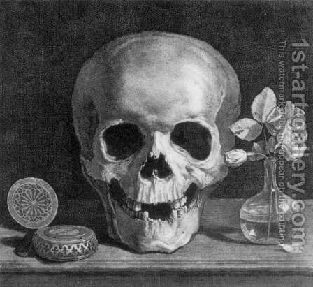 Memento Mori by Jean Morin - Reproduction Oil Painting