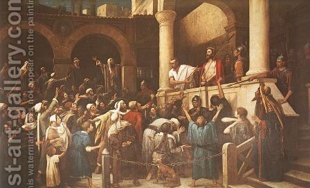 Ecce Homo  1895-96 by Mihaly Munkacsy - Reproduction Oil Painting