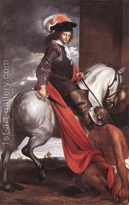 St Martin by Jacob van, the Elder Oost - Reproduction Oil Painting