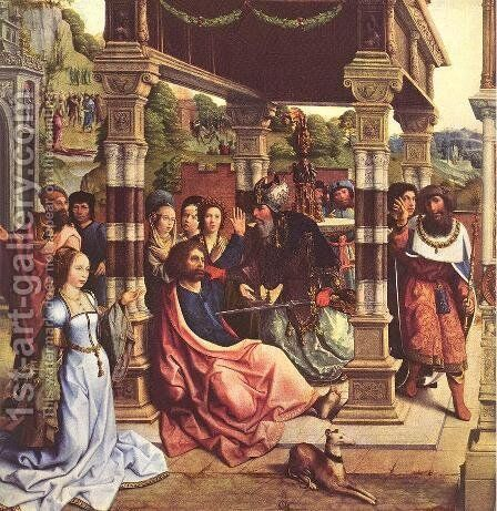 Altarpiece of Sts Thomas and Matthias 1512 by Bernaert van Orley - Reproduction Oil Painting