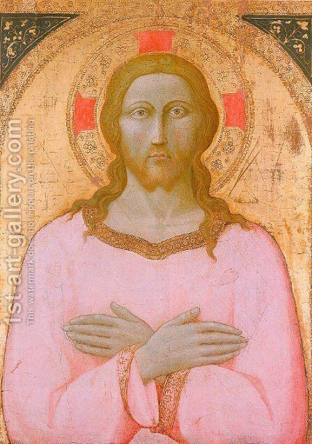 The Redeemer by Master of the Osservanza - Reproduction Oil Painting