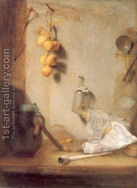 Still Life 1660 by Christoph Paudiss - Reproduction Oil Painting